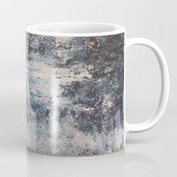 the strokes Mugs featuring Strokes by Hasan Nisar Basra