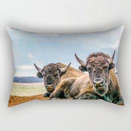 You're not welcome Rectangular Pillow