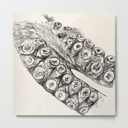 Tentacle Metal Print