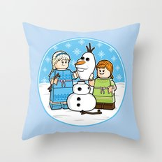 Want to Build a Snowman? Throw Pillow