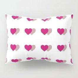 double heart Pillow Sham