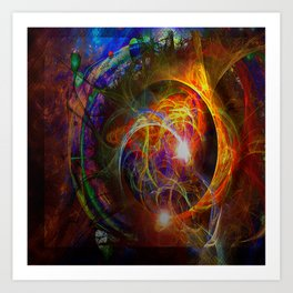 Time Eclipses All Art Print