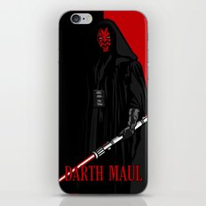 Darth Maul, Say Goodnight To the Badguy iPhone & iPod Skin