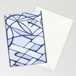 Fragment flower Stationery Cards