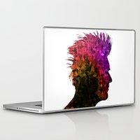 punk Laptop & iPad Skins featuring punk by KrisLeov