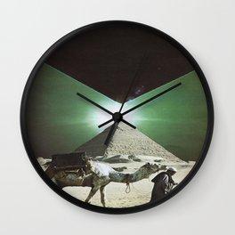 Polarity Point Wall Clock