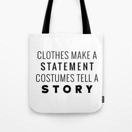 Halloween Story Tote Bag