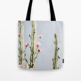 Cereus Cactus Blush Tote Bag