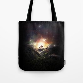 The Glass Mountain Tote Bag