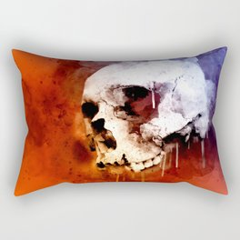 Cool Skull, Unique Best Skull Painting Rectangular Pillow