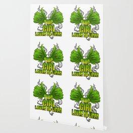 This Girl Loves Da Weed | Cannabis THC CBD Stoner Wallpaper