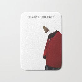 Blessed Be The Fruit Bath Mat