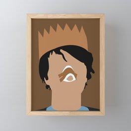 Peter Hereditary horror movie Framed Mini Art Print