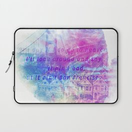 it aint san francisco Laptop Sleeve