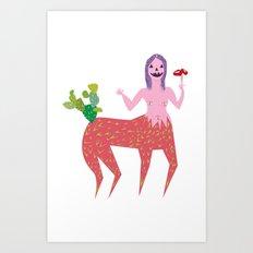 Jaki Art Print