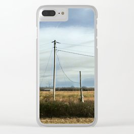 Arkansas Highway Clear iPhone Case