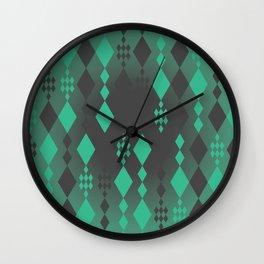 Geometric Clutter Wall Clock