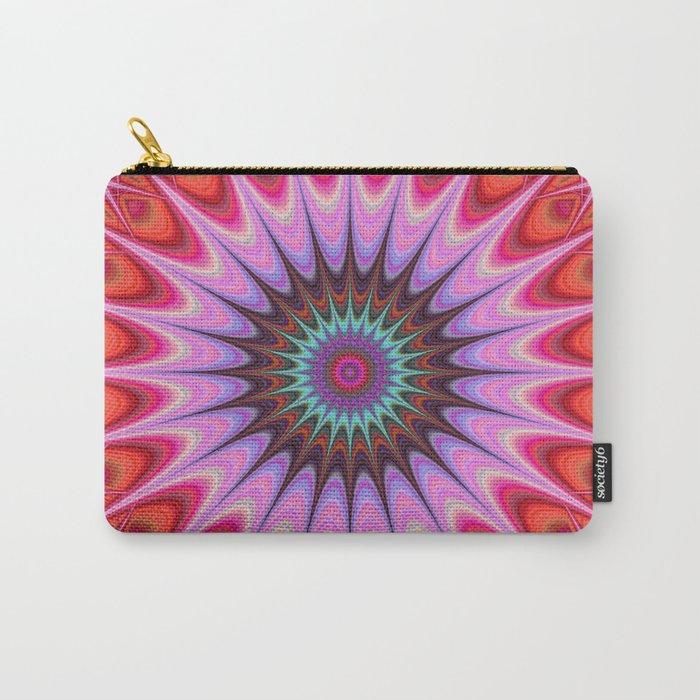 Quadrant mandala Carry-All Pouch
