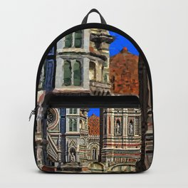 Renaissance Architecture in Florence Backpack
