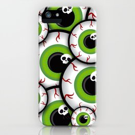 Eyeballs iPhone Case