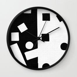 In the street No4 Wall Clock