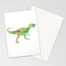 Dinosaur (Allosaurus) Stationery Cards
