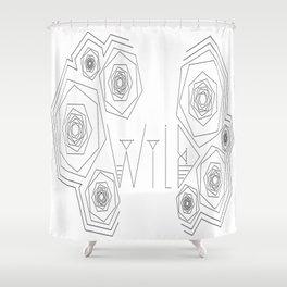 W I L D  Shower Curtain