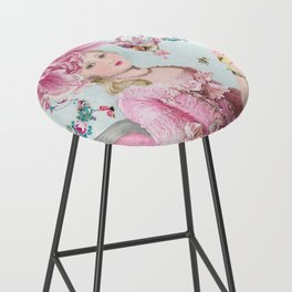 Marie Antoinette Wallflower Bar Stool