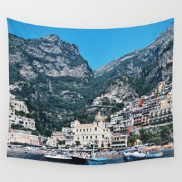 On the Amalfi Coast Wall Tapestry