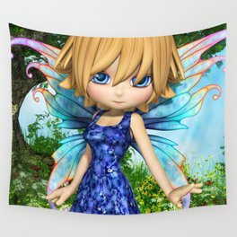 Lil Fairy Princess Wall Tapestry