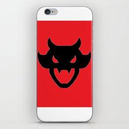 Videl's Demon Head Shirt iPhone Skin