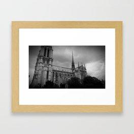Notre-Dame Framed Art Print