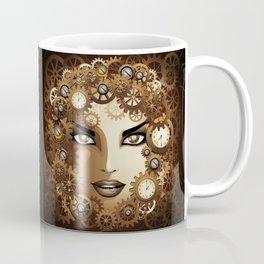 Steampunk Girl Portrait  Coffee Mug
