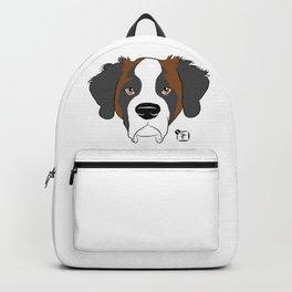 St Bernard Face Backpack