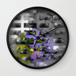 Obst Wall Clock