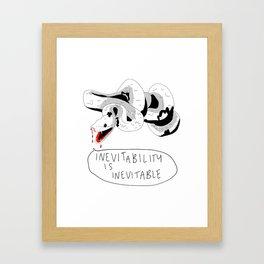 Inevitability Framed Art Print