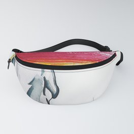 Brush back Fanny Pack