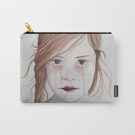 Girl With Antlers II Carry-All Pouch
