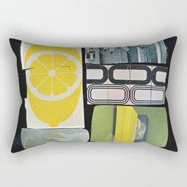 Golden Electric (old future) Rectangular Pillow