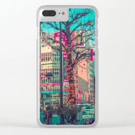 TOKYO CITY TREE Clear iPhone Case