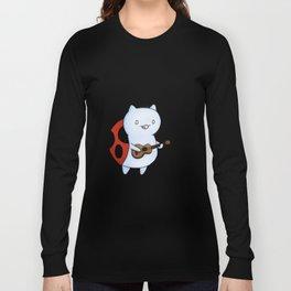 Catbug! by Maria Piedra Long Sleeve T-shirt