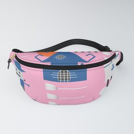 Fantastic Halloween in pink Fanny Pack