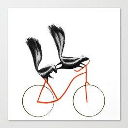 Reason NINE for using bike: Canvas Print
