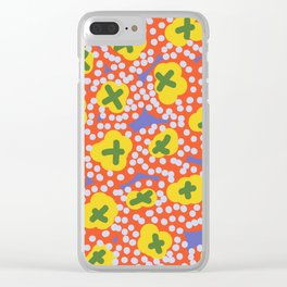 Criss Cross Clear iPhone Case