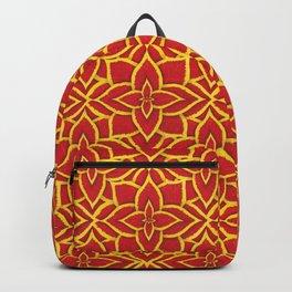 Coleus Pattern: Jazz Ruby Backpack