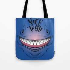 Nice Teeth Tote Bag