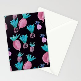 rabano negro Stationery Cards