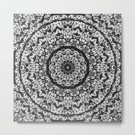 diamond mandala Metal Print
