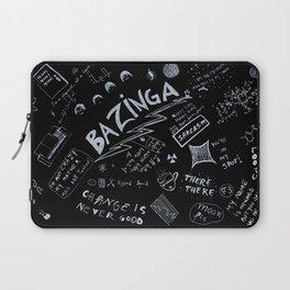 Big Bang Pattern Laptop Sleeve