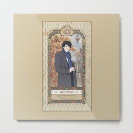 Sherlock Victorian Language of Flowers - Autumn Metal Print